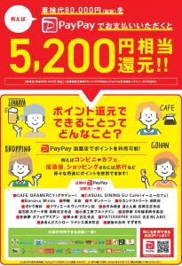 ココセレクト長岡PayPayオトク!
